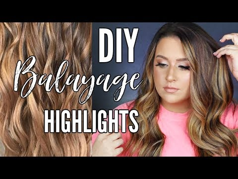 DIY Balayage Highlights at home!! | HAIR PAINTING TUTORIAL