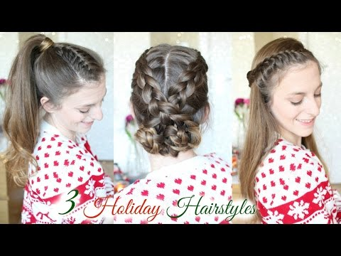 3 Cute Braid Hairstyles for the Holidays | Braided Hairstyles | Braidsandstyles12
