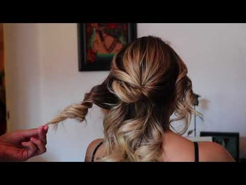 How to: Romantic Messy updo Tutorial