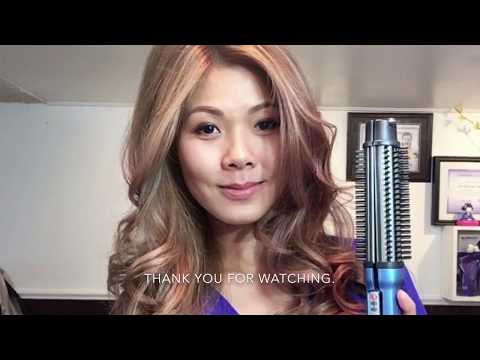 Babyliss 2in1 styling brush and flat iron - easy way to style your hair