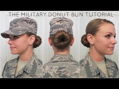 Military Donut Bun Tutorial