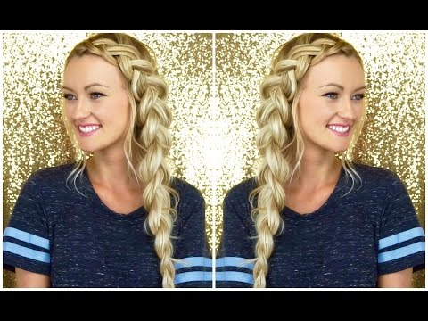 Chunky Dutch Side Braid Tutorial | Makenna Ashley