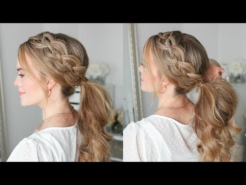 4 Strand Braid Ponytail | Missy Sue