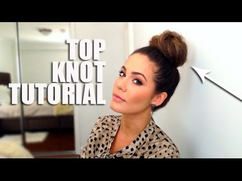 Top Knot Hair Tutorial *SUPER EASY*