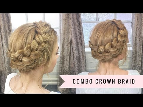Combination Crown Braid By SweetHearts Hair