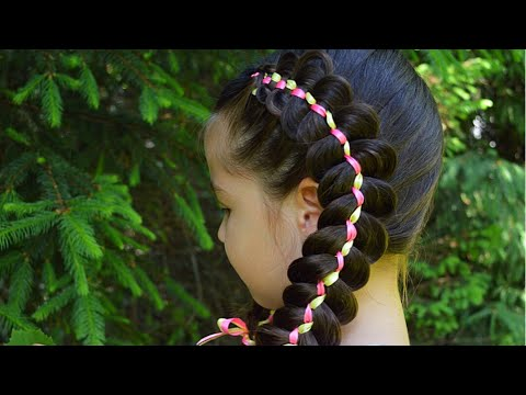 Five strand ribbon braid