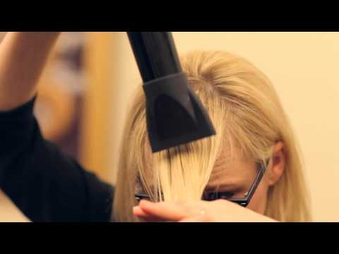 How to get the perfect swoop bang by Jaquelynn
