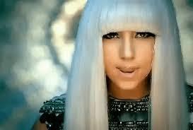 Lady Gaga Poker Face gif.