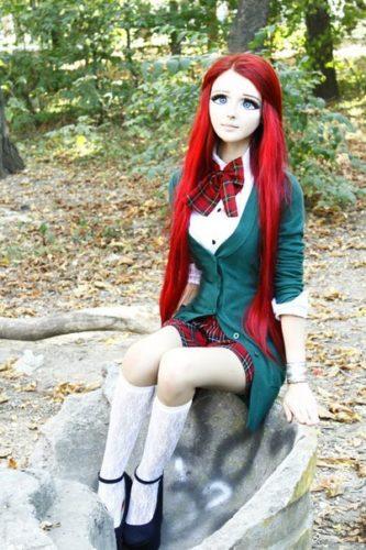 Anime-Inspired Make-Up From Anastasiya Shpagina (Anime