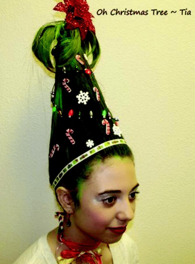 Extreme Christmas Tree Hair Holleewoodhair Com