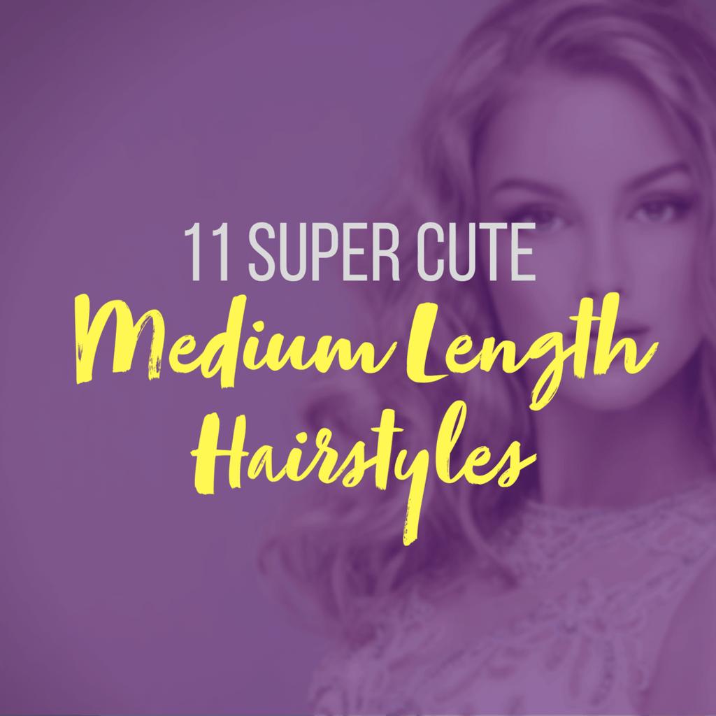 Beautiful woman with medium-length wavy hair.
