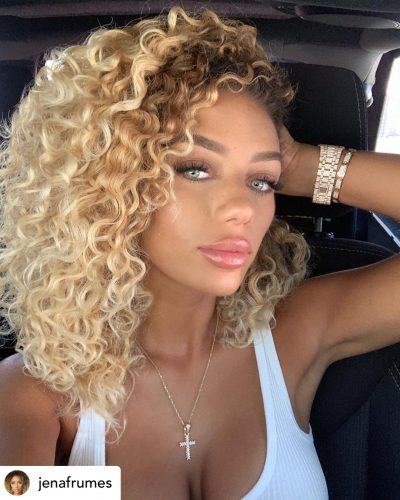 Natural hair texture.
