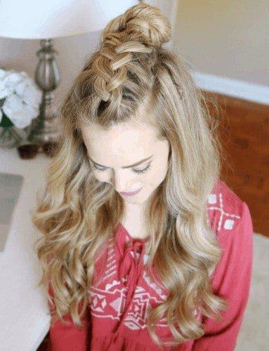 Dutch Mohawk Braid | Thanksgiving hairstyles