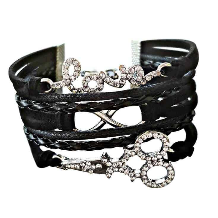 Edgy Hairstylist Bracelet
