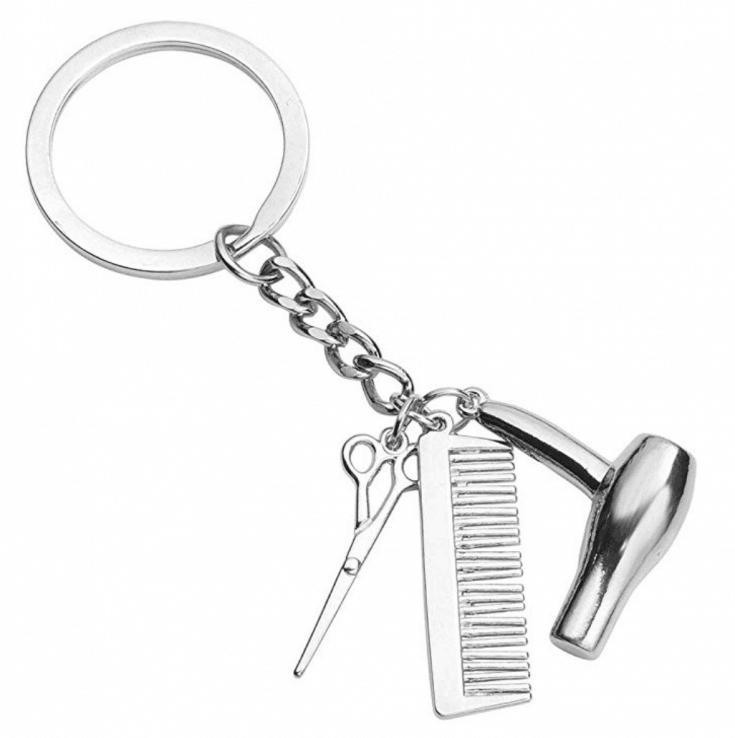 Hair Tools Keychain