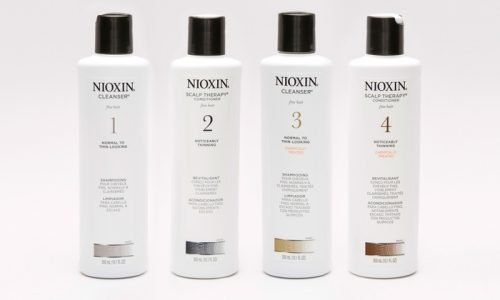 Nioxin systems 1-4.