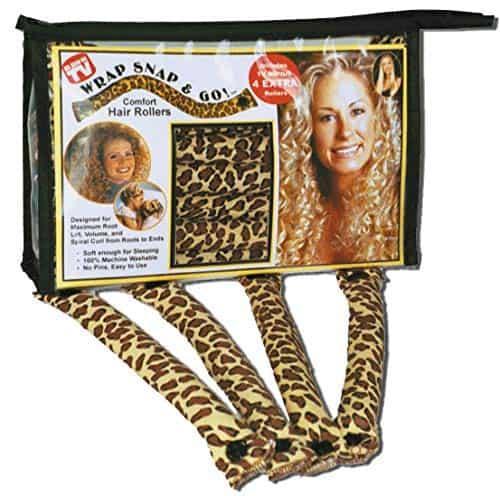 """Wrap Snap & Go"" Hair Rollers"