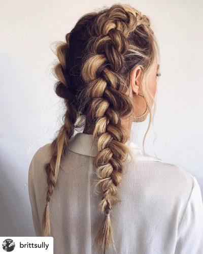 Double Dutch-Braids | Thanksgiving hairstyles